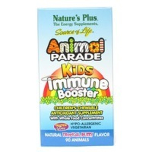 Nature's Plus Animal Parade Kids Immune Booster Tablets
