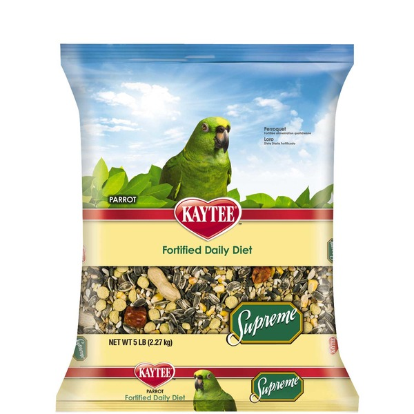 Kaytee Supreme Fortified Daily Diet Parrot Food