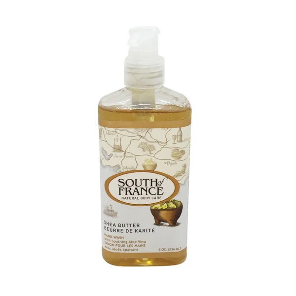 South of France Natural Body Care Shea Butter Hand Wash
