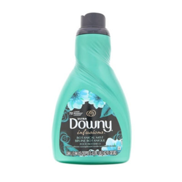 Downy Infusions Ultra Downy Infusions Botanical Mist Liquid Fabric Conditioner 62 FL Oz Fabric Enhancers