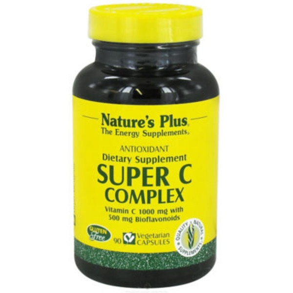 Nature's Plus Super C Complex Vegetarian Capsules