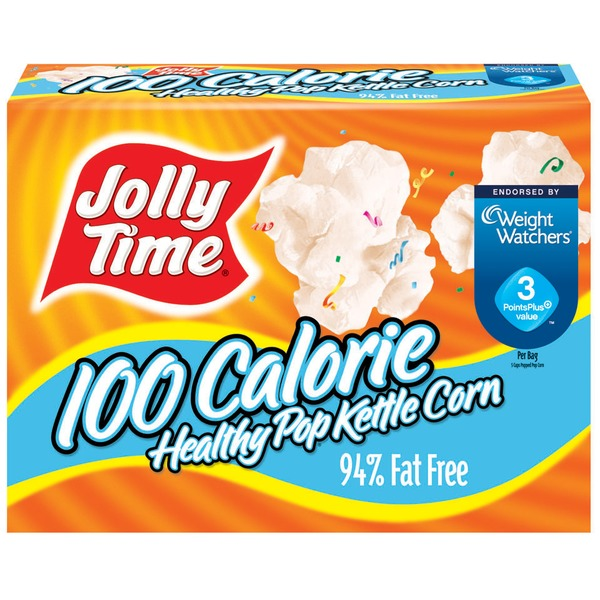 Jolly Time 100 Calorie Healthy Pop Kettle Corn Microwave Pop Corn