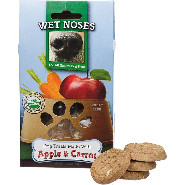 Wet Noses Apple and Carrot Dog Treats