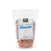 365 Roasted Unsalted Almonds