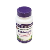 Oregon's Wild Harvest Echinacea, with Tops and Root, Non-GMO Vegetarian Capsules