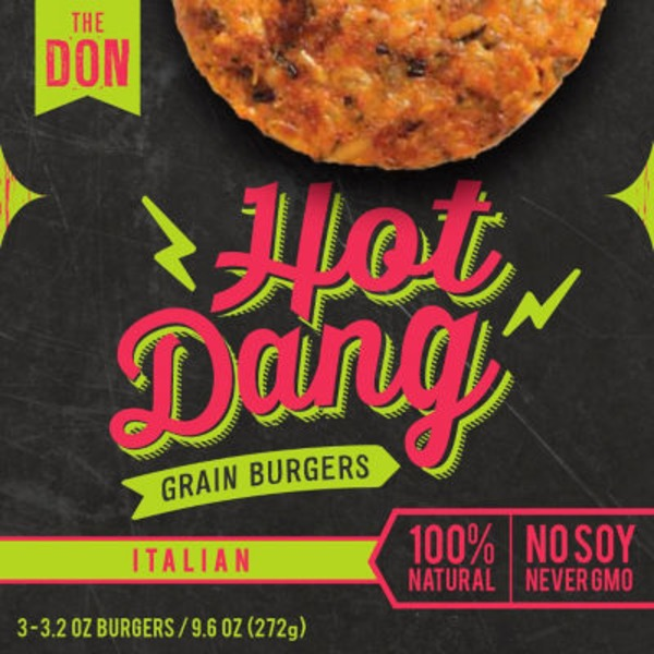 Hot Dang Italian Grain Burger