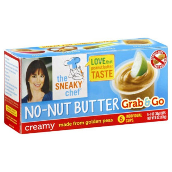 The Sneaky Chef Grab & Go Creamy No-Nut Butter
