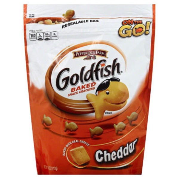 Pepperidge Farm Goldfish Cheddar Baked Snack Cracker