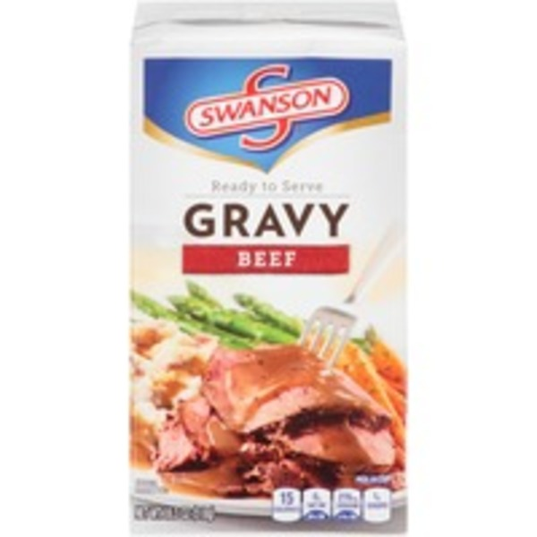 Swanson's Ready to Serve Beef Gravy