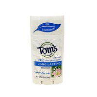 Tom's Of Maine Deodorant, Long Lasting, Honeysuckle Rose, Natural, Tube