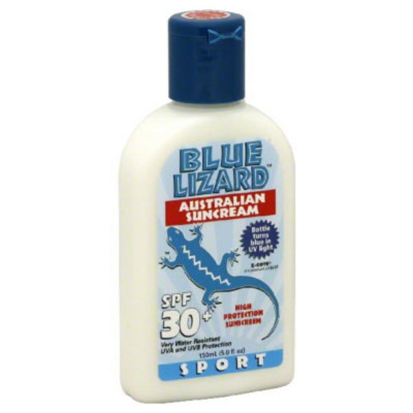 Blue Lizard Sport Sunscreen Spf 30