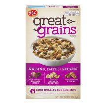 Post Great Grains Raisins, Dates & Pecans Cereal 16 oz. Box