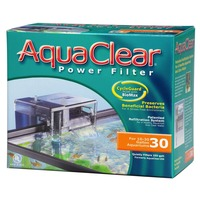 Aqua Clear Power Filter Patented Refiltration System