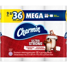 Charmin Ultra Strong Toilet Paper 9 Mega Rolls