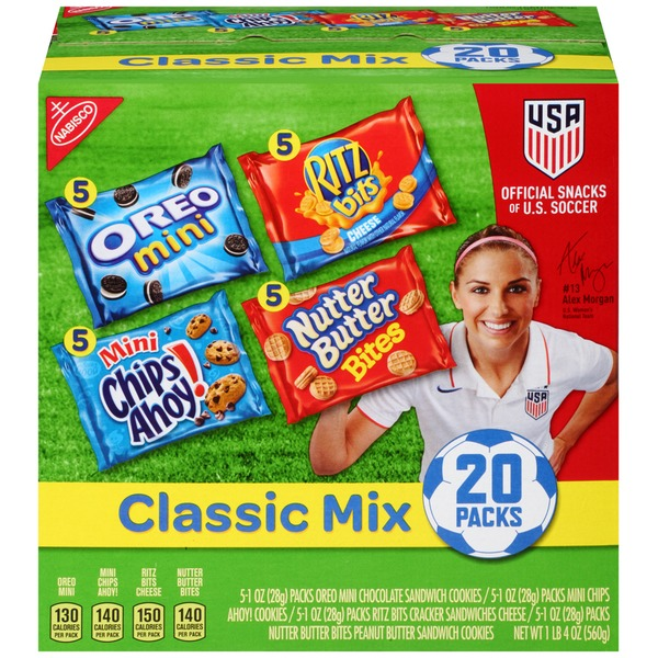 Nabisco Variety Pack Variety Pack Classic Mix Cookies & Crackers, 5 Varieties
