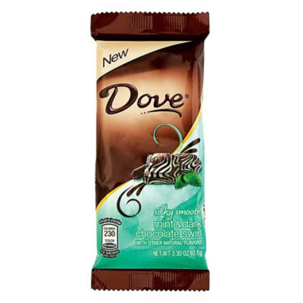 Dove Silk Smooth Promises Mint & Dark Chocolate Swirl