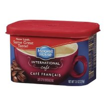Maxwell House International Cafe Francais Coffee Beverage Mix, 7.6 oz