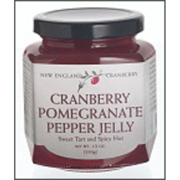 New England Cranberry Co. Cranberry Pomegranate Pepper Jelly