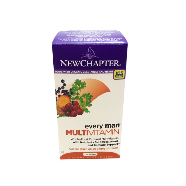 New Chapter Every Man Multivitamin Tablets