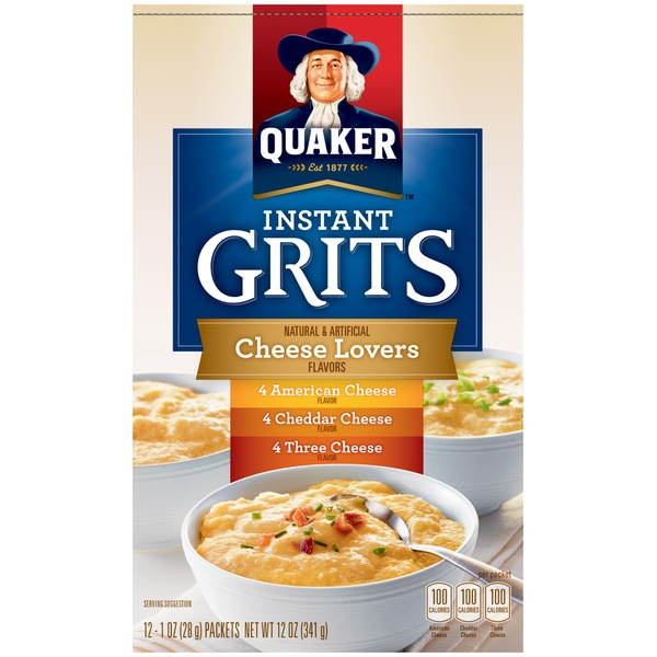 Quaker Cheese Lovers Flavors Instant Grits