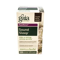 Gaia Herbs Sound Sleep Vegetarian Liquid Phyto-Caps