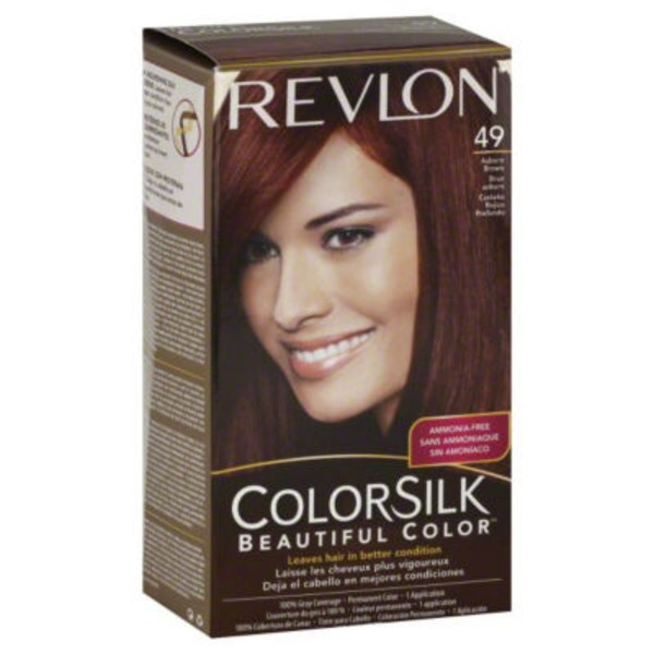 Revlon Colorsilk 49 Auburn Brown Hair Color