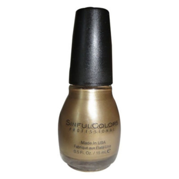 Sinful Colors Professional Gold Medal Nail Enamel