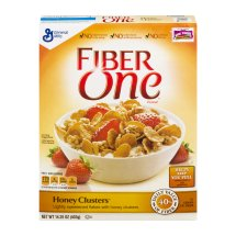 Fiber One Cereal, Honey Clusters, Whole Grain Cereal 14.25 Oz, 14.25 OZ