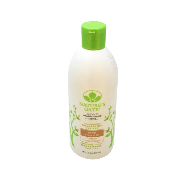 Nature's Gate Shampoo Nourishing Hemp + Argan Oil