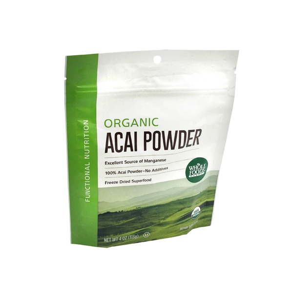 Whole Foods Market Organic Food Acai Powder
