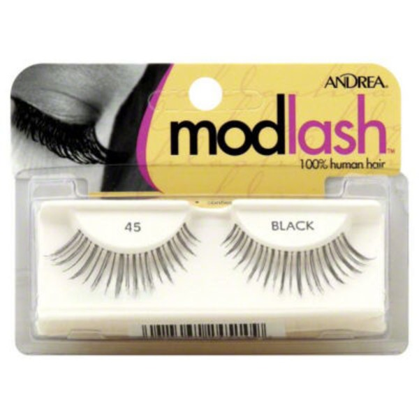 Andrea Modlash Modlash Black (100% Human Hair) Lashes