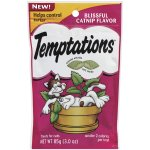 TEMPTATIONS Classic Treats for Cats Blissful Catnip Flavor 3 Ounces