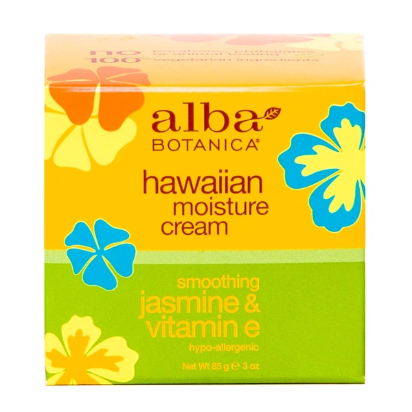 Alba Botanica Natural Hawaiian Moisture Cream - Smoothing Jasmine & Vitamin E