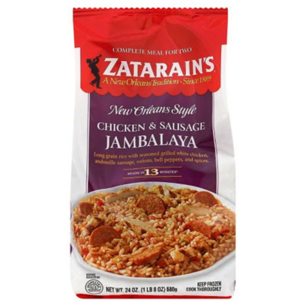 Zatarain's Chicken & Sausage Jambalaya Complete Meal for Two