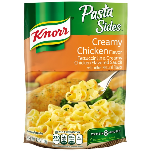 Knorr Creamy Chicken Pasta Side Dish