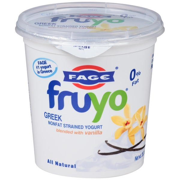 Fruyo 0% Fat Blended with Vanilla Nonfat Greek Strained Yogurt