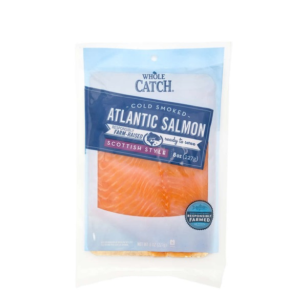 Whole Catch Fresh Smoked Cold Salmon