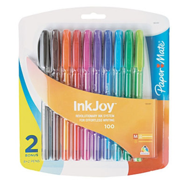 Paper Mate Ink Joy Pens Ballpoint - 8 CT