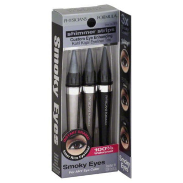 Shimmer Strips 7875 Smoky Eyes Kohl Kajal Custom Eye Enhancing Eyeliner Trio