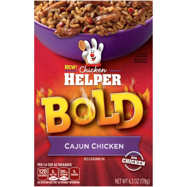 Betty Crocker Bold Cajun Chicken Chicken Helper