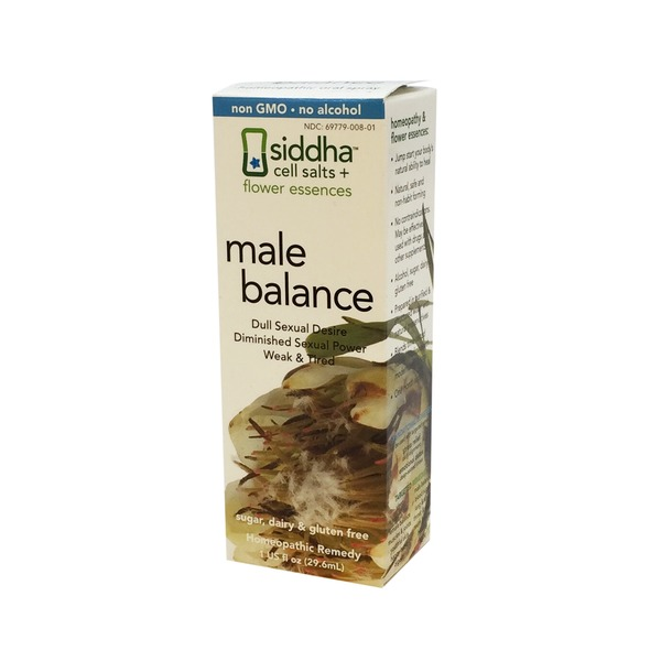 Sidda Flower Essence Male Balance Homeopathic Remedy