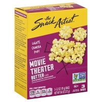 The Snack Artist Popcorn Microwave Movie Theater Butter - 3