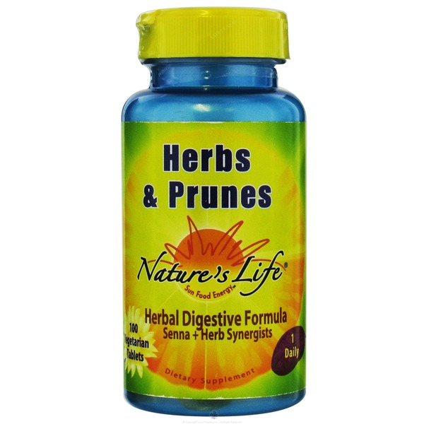 Nature's Life Herbs And Prunes Healthy Digestive Formula