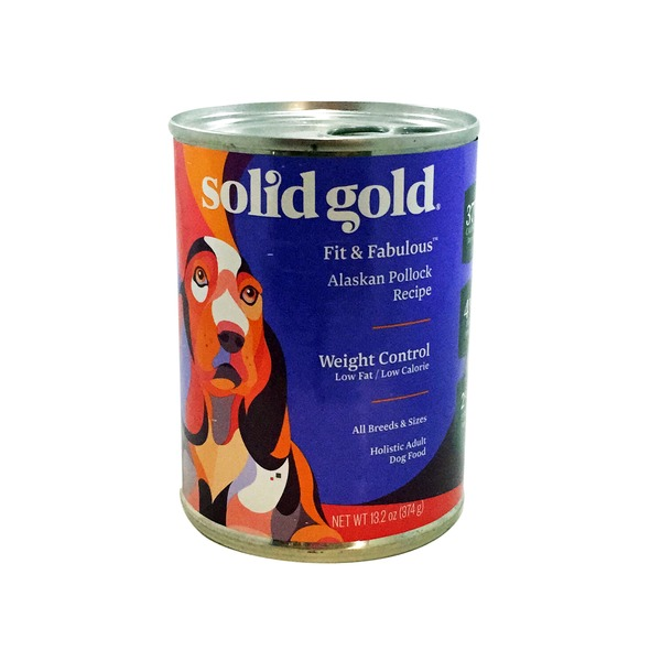 Solid Gold Grain Free Fit & Fabulous Weight Control Canned Dog Food