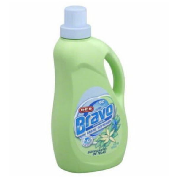 H-E-B Bravo Liquid Fabric Softener Original 60 Loads