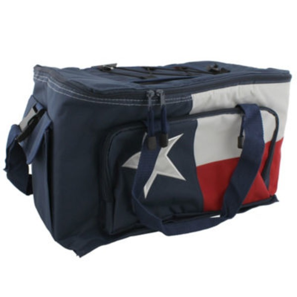 Outdoor Solutions Texas Flag Softside 48 Can Cooler