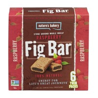 Nature's Bakery Fig Bar Stone Ground Whole Wheat Raspberry - 6 CT