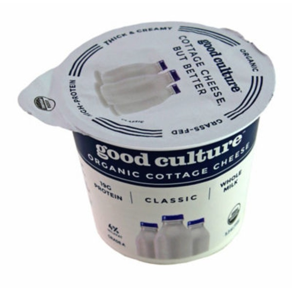 Good Culture Organic Cottage Cheese Classic