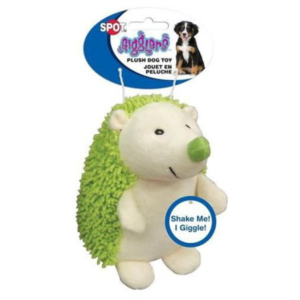 Ethical Pets Spot Gigglers Hedgehogs 6.5 Inch Dog Toy