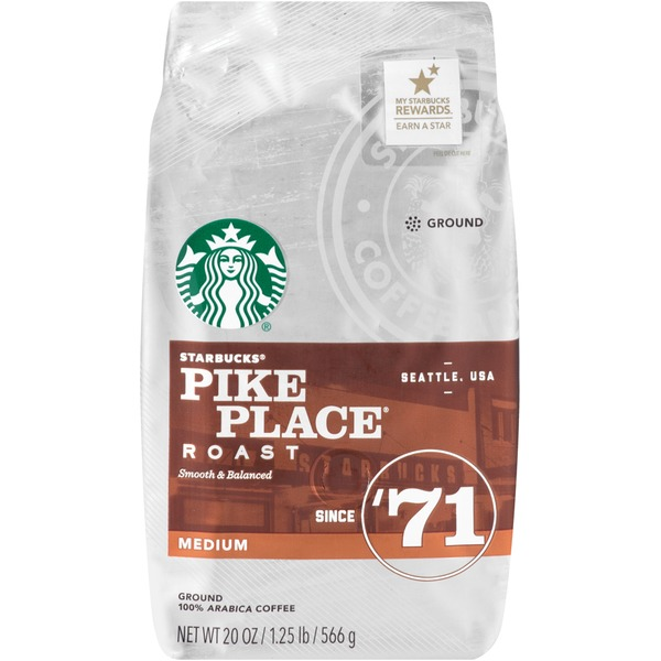 Starbucks Pike Place Medium Roast Ground Coffee